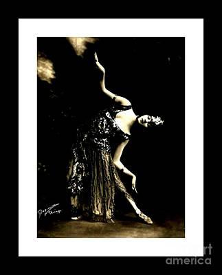 Photograph - Sylvia Tell Art Deco Ballerina Chicago Opera 1920s II by Peter Gumaer Ogden Collection