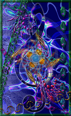 Digital Art - Symagery 20 by Kenneth Armand Johnson