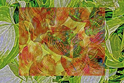 Digital Art - Symbiosis 4 by Lynda Lehmann