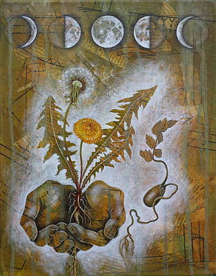 Mixed Media - Symbiosis by Sheri Howe
