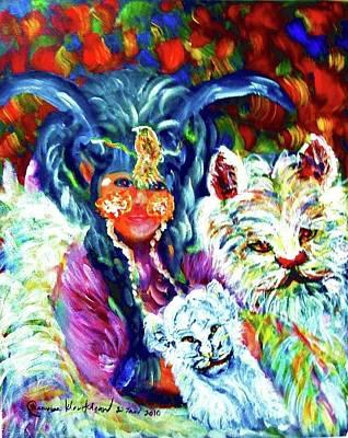 Painting - Symbiosis by Wanvisa Klawklean