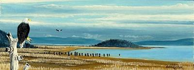 Washington State Skagit County Painting - Symbol Of America by Bob Patterson