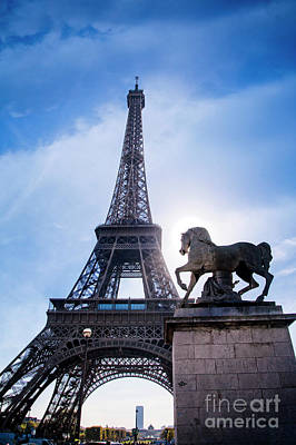 Photograph - Symbolic Eiffel by Scott Kemper