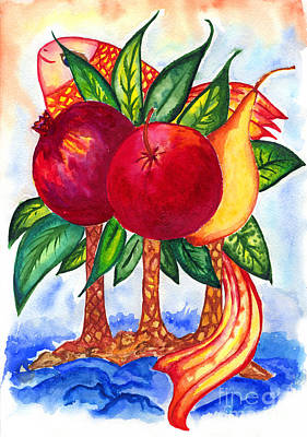 Painting - Symbolics by Kseniya Lisitsyna