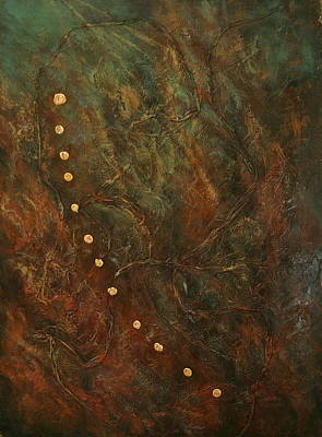 Painting - Symbols 4 by Sharon Steinhaus