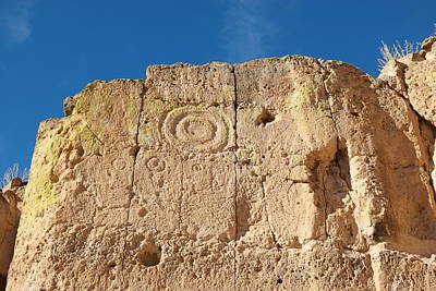 Hand Made Photograph - Symbols In The Stone by Jeff Swan