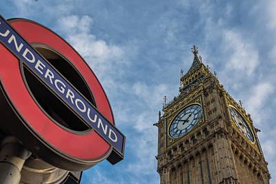 Underground Tour Photograph - Symbols Of London by Marius Comanescu