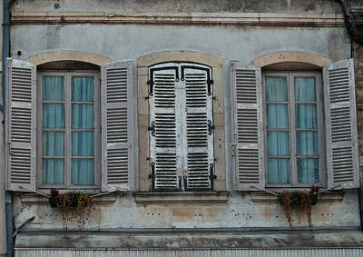 Photograph - Symetrical Window Still Life by Jani Freimann