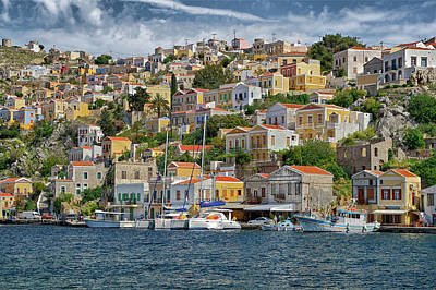 Photograph - Symi by Ellen Henneke
