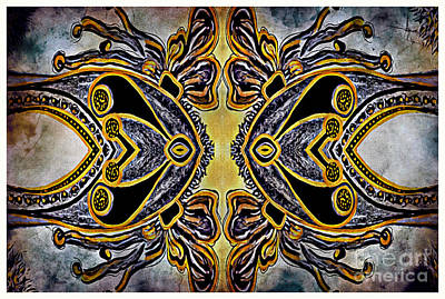 Mixed Media - Symmetric Equilibrium by Jolanta Anna Karolska