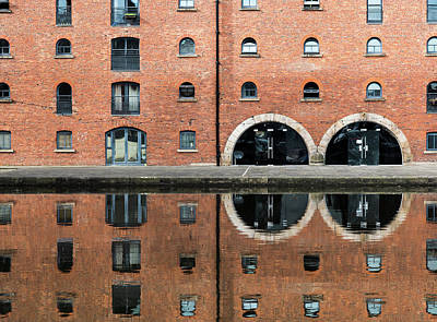 Symmetric Structure Reflected On Water Original