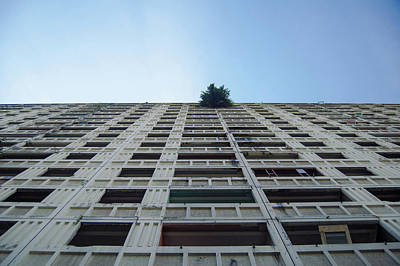 Photograph - Symmetrical Block by Andrew Kow