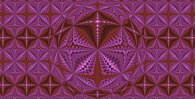 Photograph - Symmetrical Pattern, Kaleidoscope by Ernst Dittmar