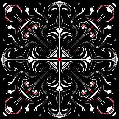Wall Art - Digital Art - Symmetry 13 by David G Paul