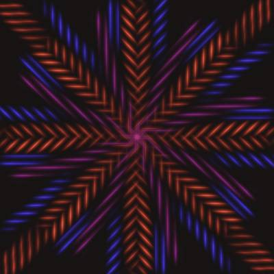 Wall Art - Digital Art - Symmetry 15 by David G Paul