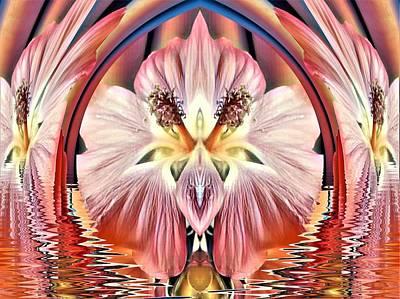 Digital Art - Symmetry 2 by Nancy Pauling