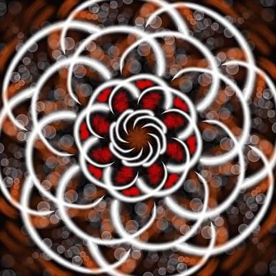 Wall Art - Digital Art - Symmetry 23 by David G Paul