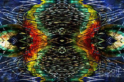 Mixed Media - Symmetry And Balance by Jolanta Anna Karolska