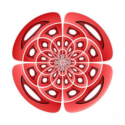 Algorithmic Digital Art - Symmetry by Gaspar Avila