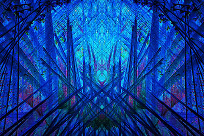 Digital Art - Symmetry by Georgianne Giese