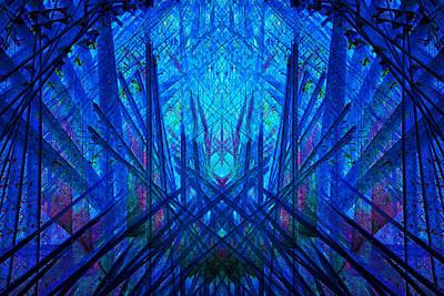 Digital Art - Symmetry by Georgianne Giese