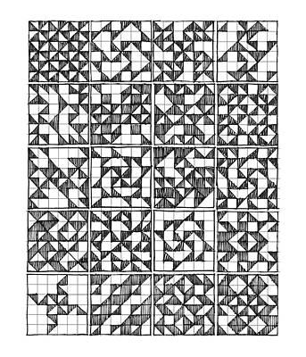 Drawing - Symmetry by Judith Kunzle