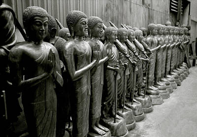 Photograph - Symmetry Of The Buddha by Shaun Higson