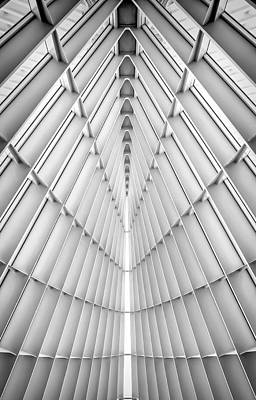 Black And White Abstract Photograph - Symmetry by Scott Norris