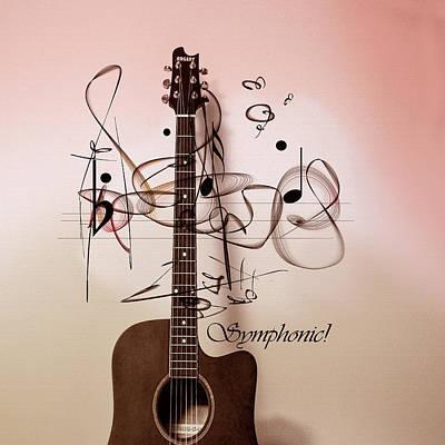 Digital Art - Symphonic Harmony by Andrew Penman