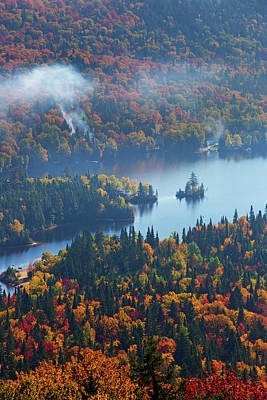 Laurentians Photograph - Symphony Of Colours by Mircea Costina Photography
