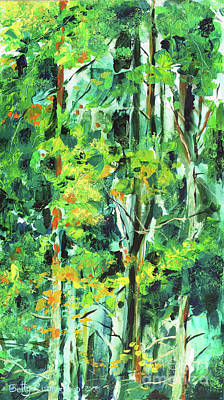 Painting - Symphony Of Forest by Betty Rubinstein