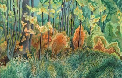 Symphony Of Light Art Print by Anne Havard