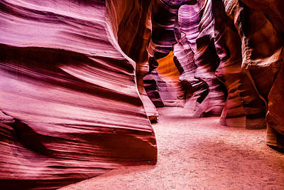 Photograph - Antelope Canyon Light by M G Whittingham