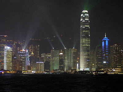 Wan Chai Photograph - Symphony Of Lights by Phil Stone