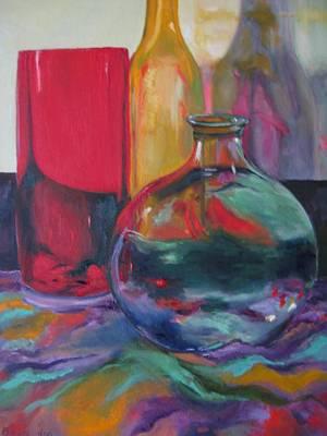 Symphony Of Vases Art Print by Lisa Boyd