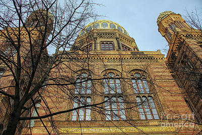 Photograph - Synagogue Berlin by Patricia Hofmeester