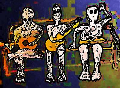 Rollingstone Painting - Sync Studio Couch 1 by Gregory McLaughlin