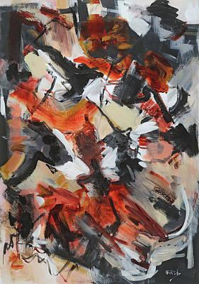Acylic Painting - Syncopated Rhythms by Cathy Hirsh