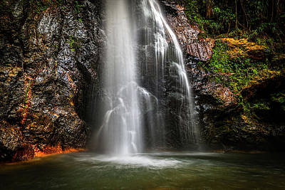 Photograph - Syndicate Falls 3 by Gary Felton