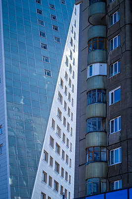 Photograph - Synergy Between Old And New Apartments by John Williams