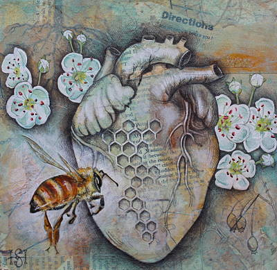 Mixed Media - Synergy by Sheri Howe