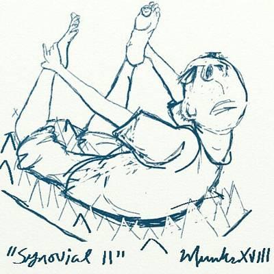 Mixed Media - Synovial 11 by John Stillmunks