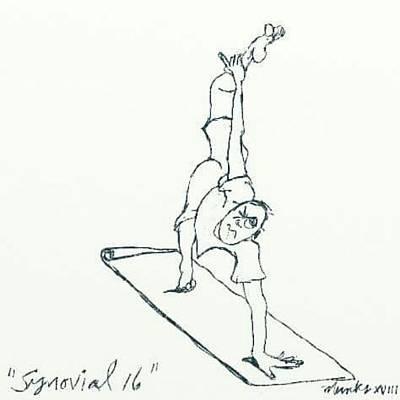 Drawing - Synovial 16 by John Stillmunks