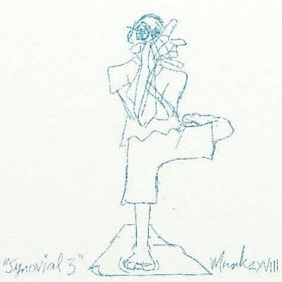 Mixed Media - Synovial 3 by John Stillmunks