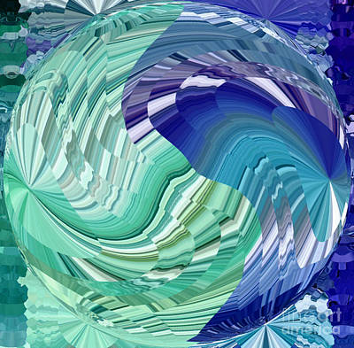 Digital Art - Synthesis by Krissy Katsimbras