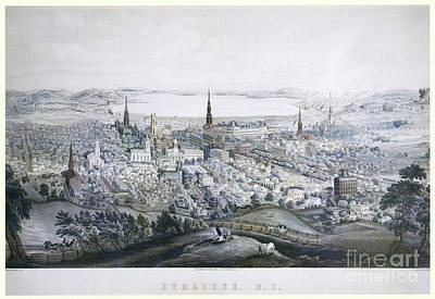 Drawing - Syracuse, 1852.  by Granger