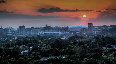 Syracuse Photograph - Syracuse Sunrise by Everet Regal
