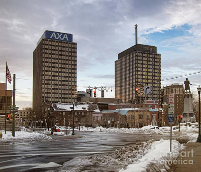 Photograph - Syracuse Towers by Debra Millet