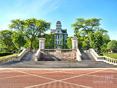 Photograph - Syracuse University Hall Of Languages by Debra Millet