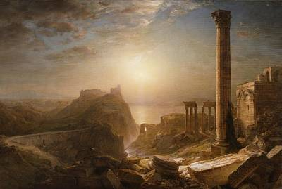 Mediterranean Sea Wall Art - Painting - Syria By The Sea by Frederic Edwin Church